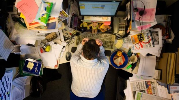 Feeling a little blue when you return to work is normal, but if you're feeling really depressed, you might be in the ...