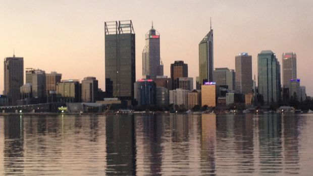 Perth is expected to reach 36 degrees today, with a forecast of partly cloudy, humid weather.