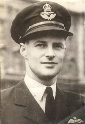 Peter Haydon during WWII.