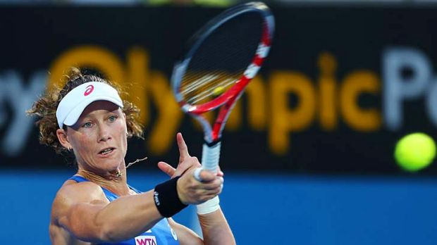 Short and sweet: Samantha Stosur has failed on home soil again.