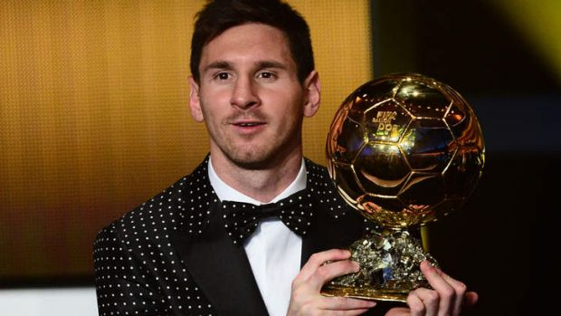 Lionel Messi ... won Ballon d'Or award for fourth time.