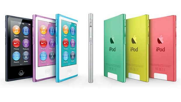Shopping spree ... Apple's iPod nano.