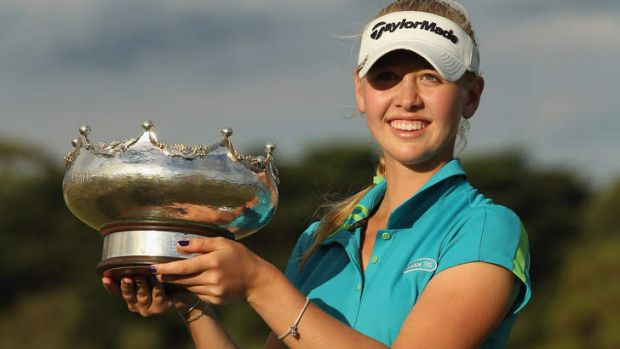 Jessica Korda won the 2012 Women's Australia Open.