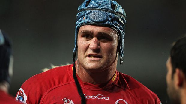 Queensland Reds and Wallabies skipper James Horwill.