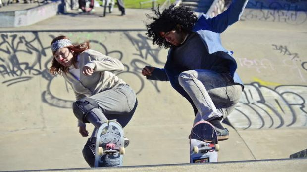 The Concrete and Bone Sessions are on at the Dulwich Hill Skate Park.
