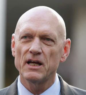 Obfusticated on test results ... Peter Garrett.