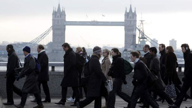 Grim winter ... bonuses are being cut and job numbers slashed.