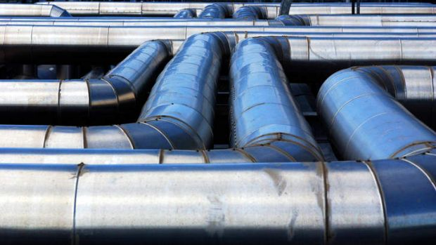 In the pipeline: US gas reserves are surging.