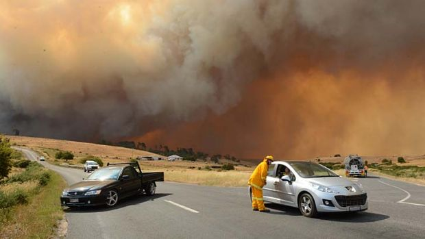 Mr Lapsley urged people in bushfire areas to be prepared and have a fire plan.