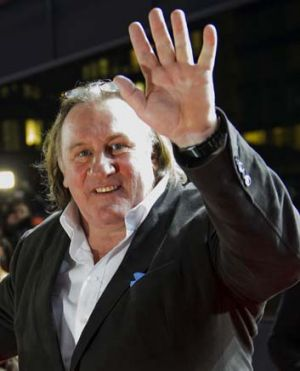 No show ... French actor Gerard Depardieu misses court appearance.