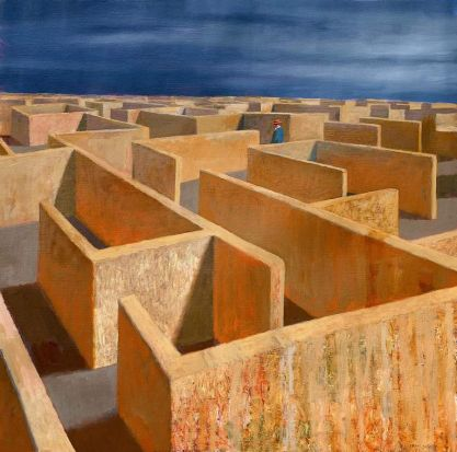 Jeffrey Smart's Labyrinth, 2011.
