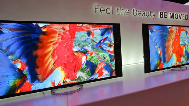 Sony's 4K XBR LED televisions.