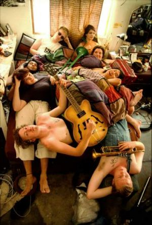 Gypsy punk band The Mouldy Lovers are coming to Canberra on January 12.