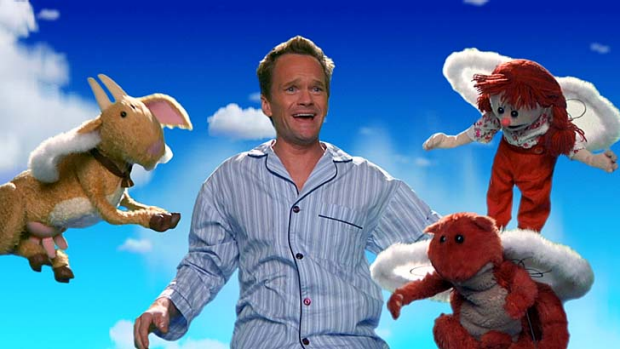 Nerdist ... Neil Patrick Harris in a scene from <em>Puppet Dreams</em>.