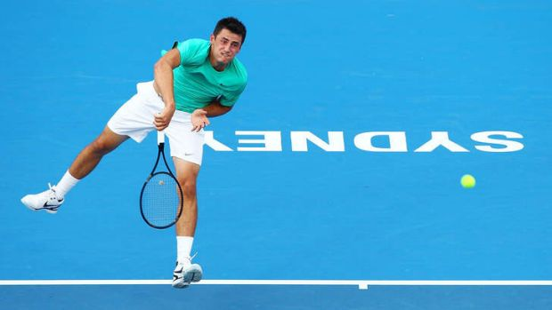 Lleyton Hewitt is keen for Bernard Tomic to make himself available for the Davis Cup.