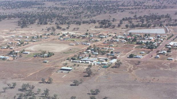 GOODOOGA: Even when not flooded, this NSW town, 500 kilometres inland, is very isolated.