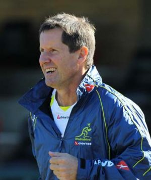 Robbie Deans ... a decision needs to be made on the future of the Australia coach.