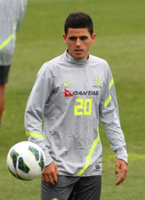 Off to Spain ... to train with Glasgow Celtic: Central Coast prodigy Tom Rogic.
