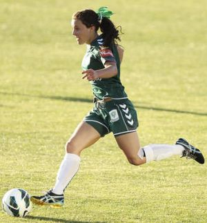 Hayley Raso has been in dynamic form for Canberra United.
