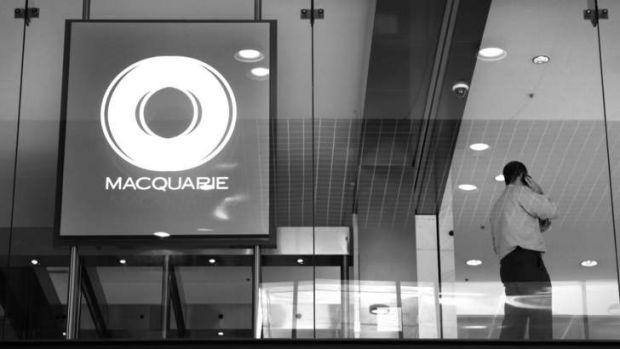 Macquarie's profits fell to an eight-year low last year.