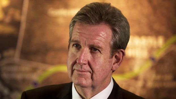"""I think Mr Thomson and his lawyer need to calm down a bit,"" NSW Premier Barry O'Farrell said."