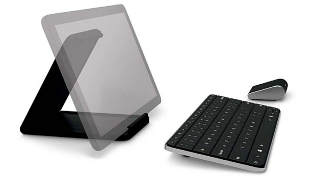 Handy accessories ... Microsoft's Wedge Touch Mouse and Wedge Mobile Keyboard.