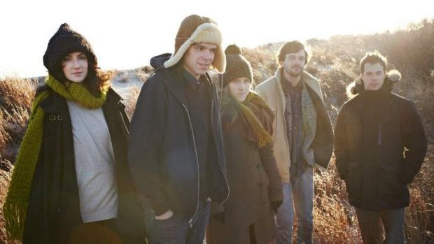 Dirty Projectors' Dave Longstreth (second from left) retains tight creative control over the band's activities, says ...