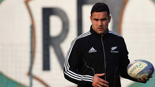 Tamati Ellison aggravated his injured shoulder on the All Blacks' tour of Europe in November.