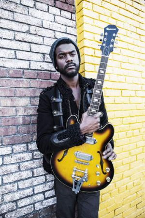 """Gary Clark ... being a musician was """"kind of a no-brainer""""."""