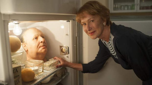 Steadfast ... Hitchcock's wife Alma Reville, played by Helen Mirren, was instrumental in the creation of his films.