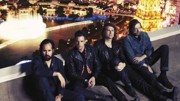 Escaping winter in the US ... the Killers, from left, Ronnie Vannucci jnr, Brandon Flowers, Dave Kuening and Mark Stoermer.