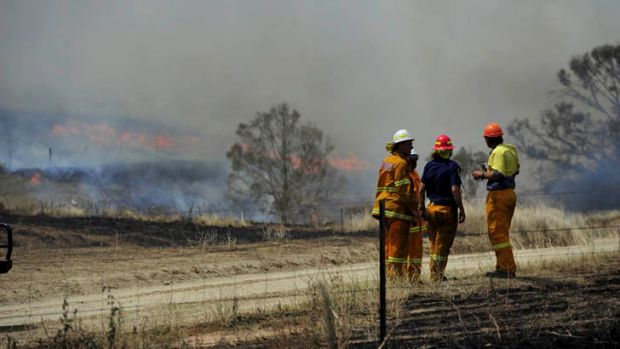 NSW RFS crews were able to save most properties, but sadly at least one home was lost.