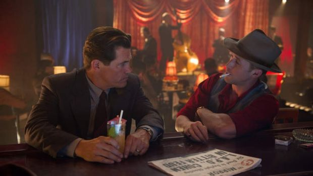 Under cover ... Josh Brolin and Ryan Gosling play cops in Gangster Squad.