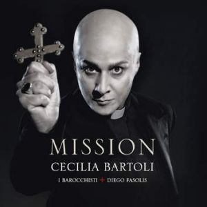 New ground ... Bartoli's new album Mission.