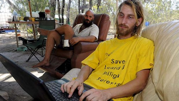 """We have plenty of tricks up our sleeve'' … activist Jonathan Moylan had his laptop and mobile phone seized by ..."