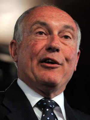 Stamped out the idea of ending compulsory preferential voting ... acting Opposition Leader Warren Truss.