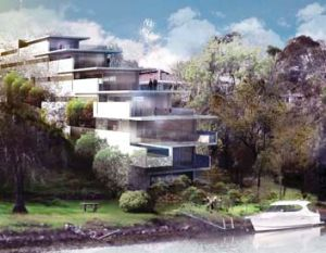 These riverside apartments have got the jump on new planning laws - but they don't come cheap, costing $2.2 million to ...