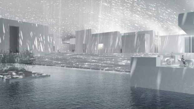 Oasis: Designs for the Louvre Abu Dhabi.