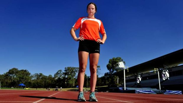 Royalla's Bridget Reilly, 16, is going to the Australian Youth Olympic Festival.