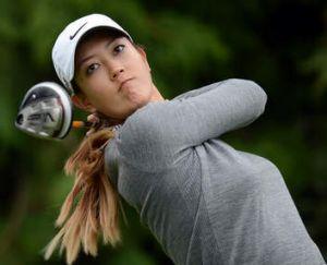 Michelle Wie will play in Canberra.