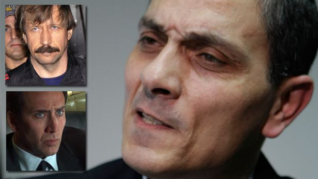 Twisted tale ...Richard Chichakli, right, is wanted in the US for dealings with arms warlord Viktor Bout, top left, who ...