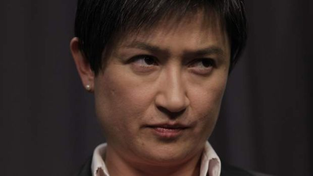 Finance minister Penny Wong says the IMF has endorsed Labor's stimulus spending.