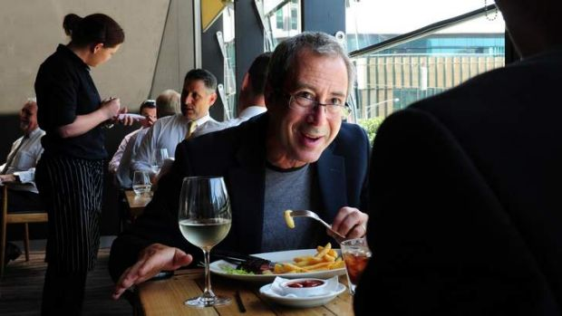 Ben Elton says he exercises hard 'so that I can earn the things I like to consume'.