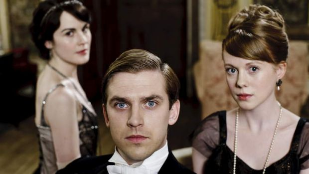 Upstairs, downstairs drama ... Downton Abbey.
