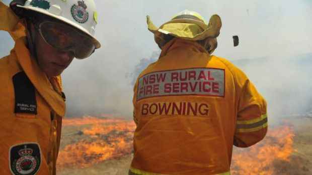 Bowning RFS crews in action this week.
