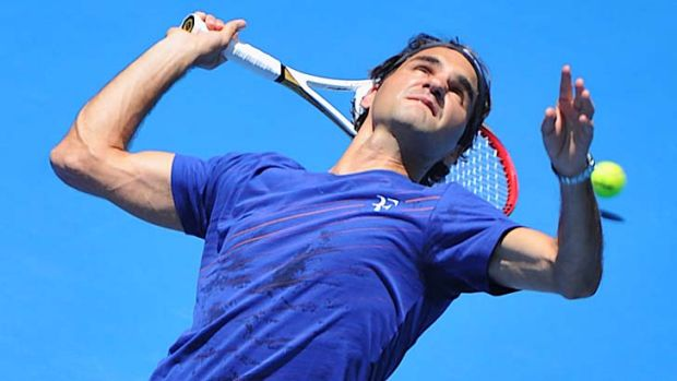 Likely to meet Tomic … Roger Federer.