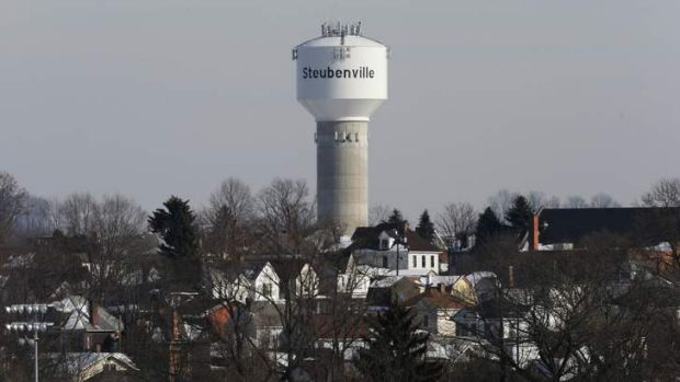 Steubenville is former steel town where the footballers are stars.