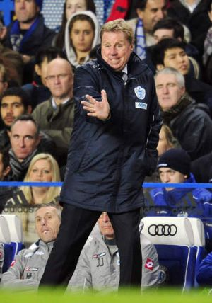 Queens Park Rangers' manager Harry Redknapp.