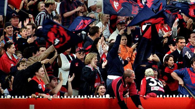 Long-suffering: Melbourne Demons fans.