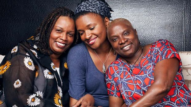 Power-packed tribute to great women … from left, Dianne Reeves, Lizz Wright and Angelique Kidjo join forces in ...